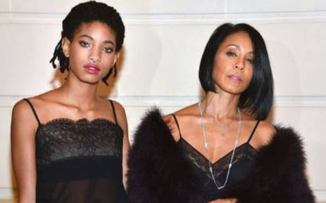 Jada Pinkett Smith with daughter Willow. Picture: Instagram/@jadapinkettsmiith