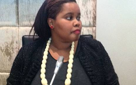 Lindiwe Mazibuko, the newly elected DA leader in Parliament. Picture: Catherine Rice/EWN