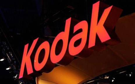 Camera company, Kodak. Picture: AFP.