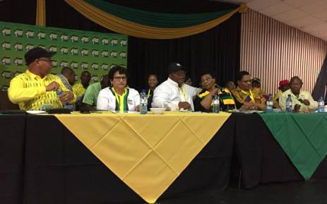 African National Congress branch delegates and leaders at the Limpopo general council. Picture: Pelane Phakgadi/EWN.