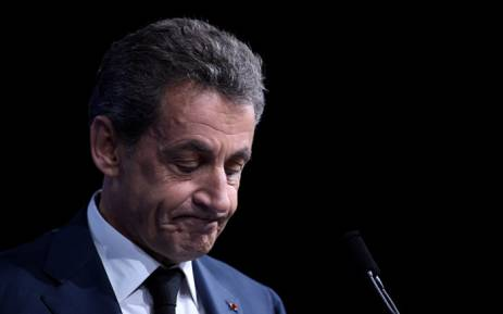 FILE: Former French president Nicolas Sarkozy. Picture: AFP
