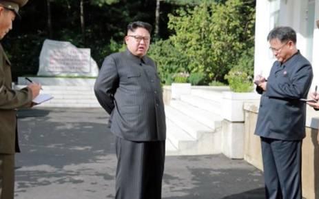 FILE: North Korea's Kim Jong Un. Picture: CNN screengrab.