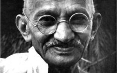 Mahatma Gandhi. Picture: The Gandhi Foundation