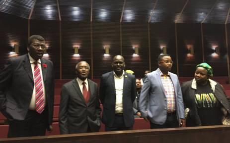 The KwaZulu-Natal ANC leadership. Picture: Ziyanda Ngcobo/EWN.