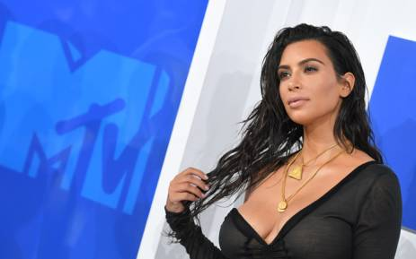 FILE: FILE: Kim Kardashian West attends the 2016 MTV Video Music Awards at Madison Square Garden in New York. Picture: AFP.