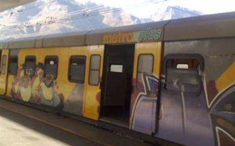 FILE: A Metrorail train at Cape Town station. Picture: Giovanna Gerbi/EWN.