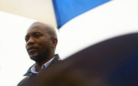 Democratic Alliance Leader Mmusi Maimane led a march to the Gupta compound in Saxonworld, Johannesburg, in protest of state capture and corruption carried out by President Jacob Zuma and the family. Picture  Sethembiso Zulu/EWN.