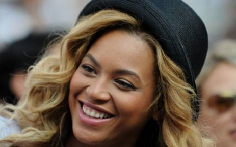 "Beyonce says she wants to give her baby daughter a normal childhood with ""sprinklers and ... slumber parties.""  Picture: AFP"