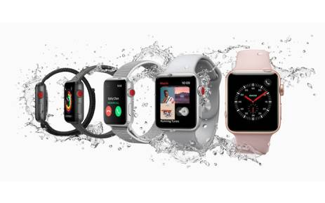 The Series 3 of the Apple Watch. Picture: apple.com