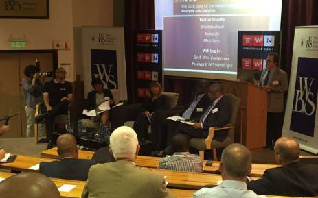 #PostSona: EWN partnered with Wits Business School to present a robust #PostSona discussion. Picture: Sheldon Morais/EWN.