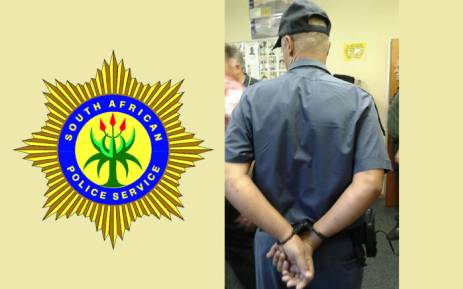FILE: A 45-year-old officer from Pinelands Police Station was arrested for allegedly cooking the blood of drunken drivers in order to extort money from them. Picture: Saps/EWN