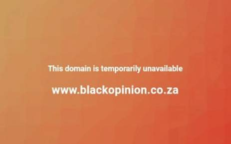 The Black Opinion website was shut down by the Internet Services' Provider Association. Picture: facebook.com