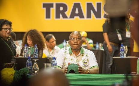 FILE: President Jacob Zuma at the ANC national conference on 18 December 2017. Picture: Thomas Holder/EWN.