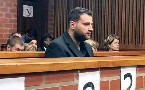 FILE. Christopher Panayiotou in the Port Elizabeth Magistrates Court. Picture: Siyabonga Sesant/EWN