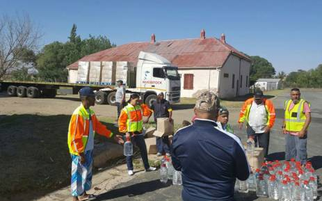 As residents from Senekal in the Free State battle the worst drought in years, a humanitarian organisation has distributed more than a hundred thousand litres of water to the community. Picture: Operation Hydrate Initiative SA/Facebook.