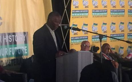 Former President Thabo Mbeki addresses the ANC Stalwarts' national consultative conference on 19 November 2017 in Braamfontein, Johannesburg. Picture: Clement Manyathela/EWN