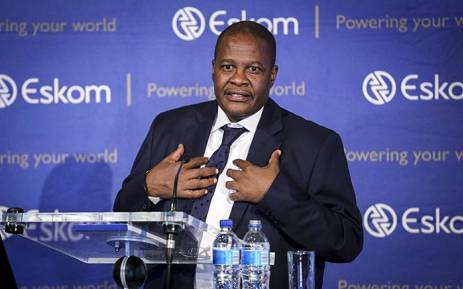 FILE: Former Eskom CEO Brian Molefe speaks during a press conference in Johannesburg on 3 November 2016. Picture: Reinart Toerien/EWN.