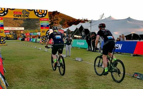 Riders participate in the Cape Epic. Picture: @CapeEpic/Twitter