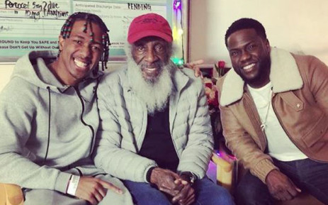 Nick Cannon spends Christmas in hospital with Kevin Hart at his side