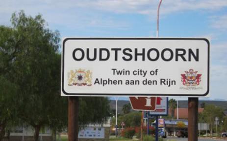Oudtshoorn sign. Picture: Facebook.