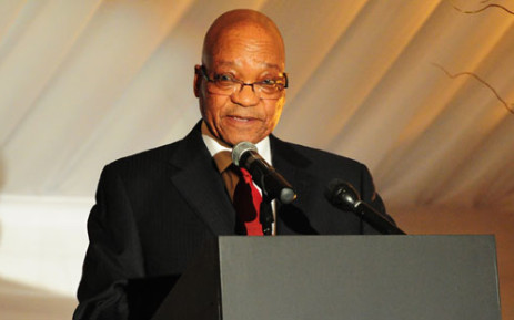 President Jacob Zuma on 11/07/2013. Picture:GCIS