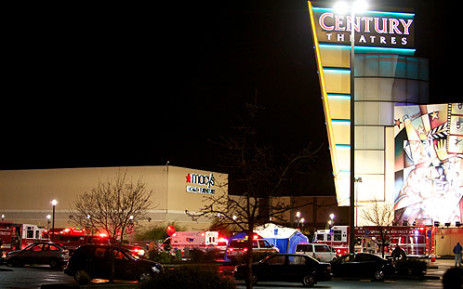 Emergency vehicles at the Clackamas Town Center mall after a shooting on 11 December 2012. Picture: AFP