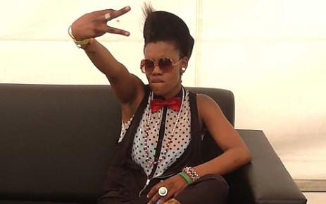 Toya Delazy at Joburg Day 2012. Picture: Andrea van Wyk/EWN.