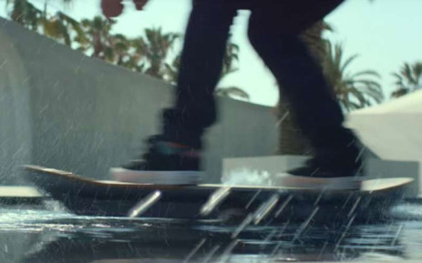 FILE: The Lexus introduced the first official hoverboard last year. Picture: Screengrab Youtube