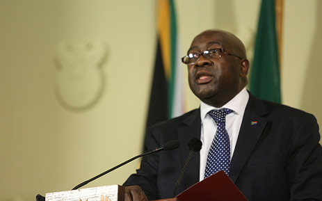 Finance Minister Nhlanhla Nene at President Jacob Zuma's update on the State of the Nation address in Pretoria on 11 August 2015. Picture: Reinart Toerien/EWN