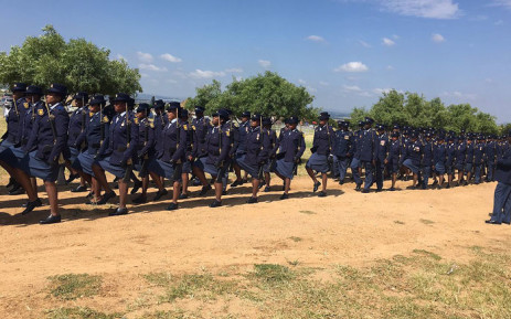 The new Diesploot Police Station was opened on 19 February 2016. Picture: Mia Lindeque/EWN.