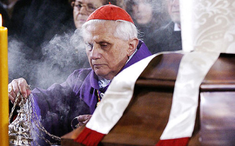 Pope Benedict XVI will step down at the end of February as the leader of the Catholic Church. Picture: AFP