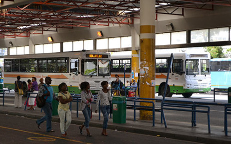 Golden Arrow buses parked at the terminus in the Cape Town CBD. Picture: Aletta Gardner/EWN
