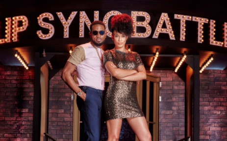 The new hosts for Lip Sync Battle D'Banj and Pearl Thusi. Picture: Supplied