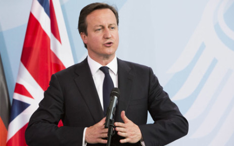 British Prime Minister David Cameron. Picture: AFP