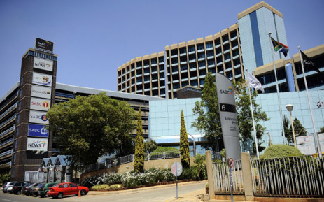 The SABC headquarters in Johannesburg. Picture: AFP.