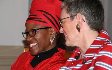 Reverend Mpho Tutu wed Professor Marceline Furth in the Netherlands. Picture: Desmond & Leah Tutu Legacy Foundation.