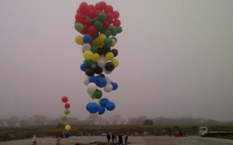 The Balloon Run took place in Cape Town on 6 April 2013. Picture: Renee de Villiers/EWN