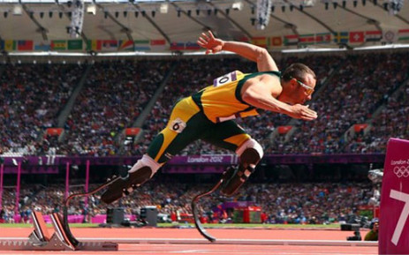 Oscar Pistorius's agent says the athlete is yet to say whether he intends competing in athletic events since his bail conditions were relaxed. Picture: London2012.com.