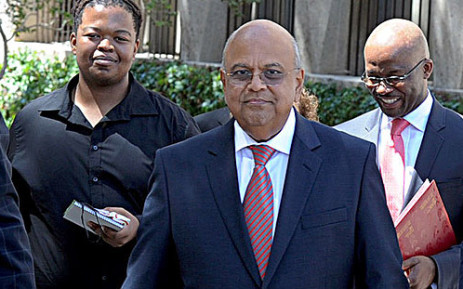 Finance Minister Pravin Gordhan arrives in Parliament ahead of his Budget Speech on 27 February 2013. Picture: GCIS