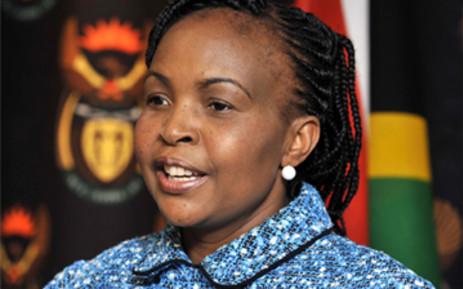 Minister of International Relations and Cooperation, Maite Nkoana-Mashabane. Picture: GCIS.