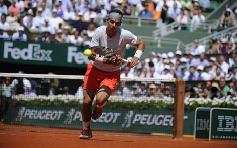 The 'King of Clay', Rafael Nadal goes in search of his 9th French Open title tomorrow. Picture: Facebook.com