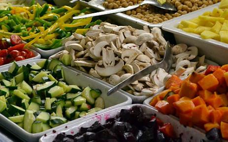 Salad ingredients. Picture: Aletta Gardner/EWN