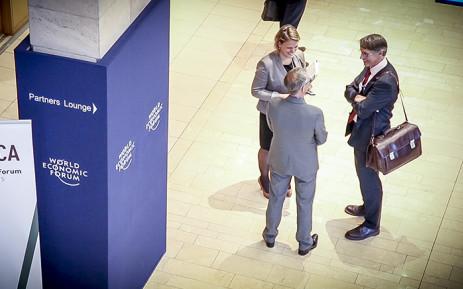 FILE: Delegates at the 2015 World Economic Forum. Picture: Thomas Holder/EWN