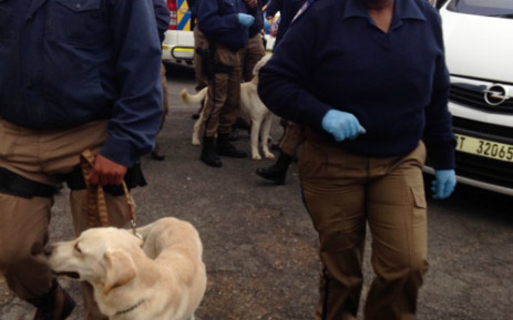 Cape Town Metro police officials. Picture: Lauren Isaacs/EWN.