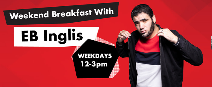 Weekend Breakfast with EB Inglis