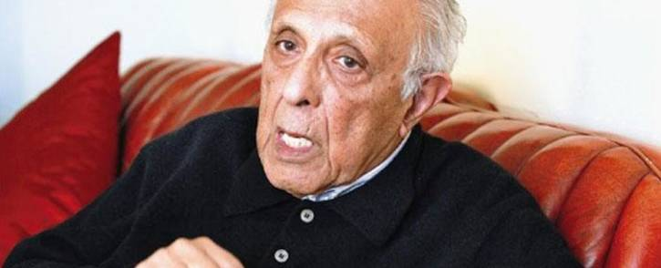 FILE: Ahmed Kathrada. Picture: @KathradaFound/Twitter.