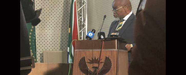 Mineral Resources Minister Gwede Mantashe. Picture: Qaanitah Hunter/EWN