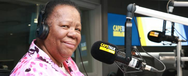 Higher Education Minister Naledi Pandor. Picture: CapeTalk