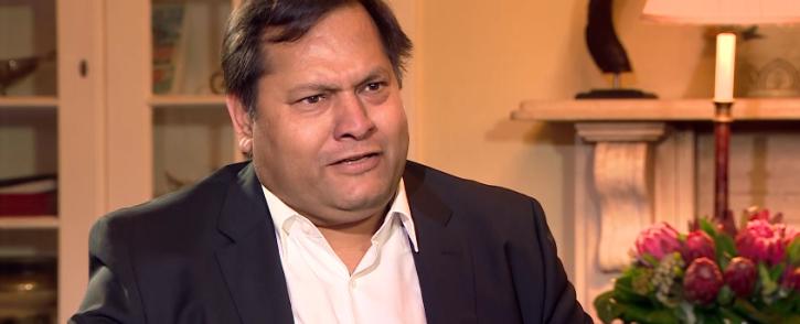 Ajay Gupta. Picture: Screengrab/Youtube