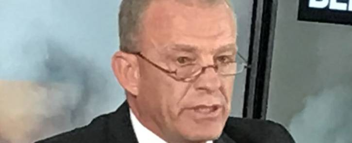 Advocate Gerrie Nel announced on 17 October 2017 that AfriForum would prosecute Duduzane Zuma for a 2014 accident in which Phumzile Dube died. Picture:  Barry Bateman/EWN